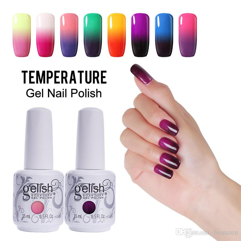 Fashion Changing Gel Nail Polish Gelish Nail Art Soak Off Uv Led ...
