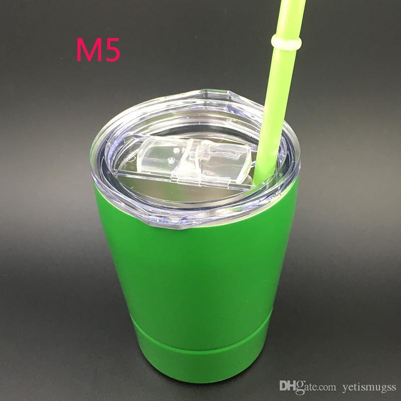 Las ventas mezcladas colorean los vasos Vaso de acero inoxidable Tazas con aislamiento al vacío Vaso con coloridas tazas