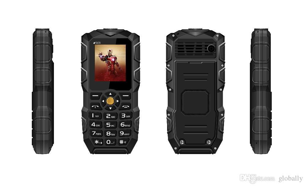 D'origine Oeina XP1 Quadri-bande Débloqué Téléphone 1.77 '' Dual SIM Bluetooth 2500 mAh Batterie Flash Light Power Bank mobile téléphone portable 01