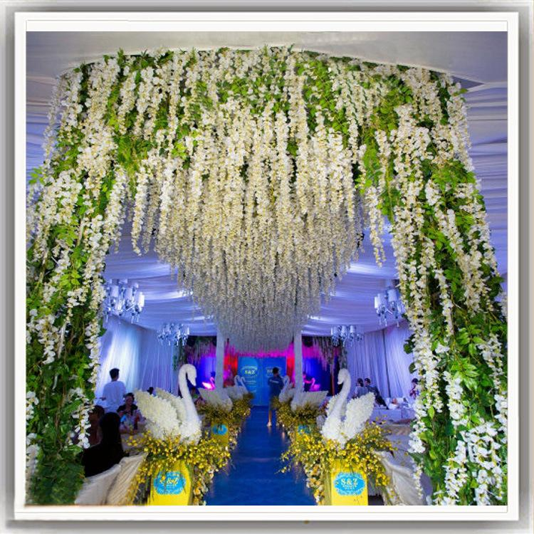 Wedding Flower Decoration Simulation Wisteria