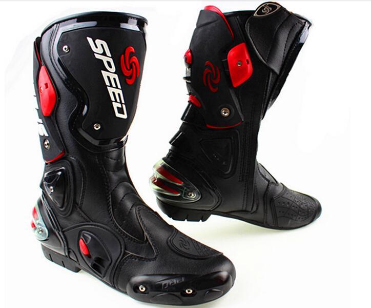 2018 Waterproof Motorcycle Boots For Men Dirt Bike Motocross Boots