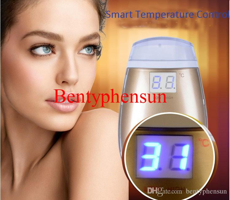 New Arrival LCD Screen Temperature Control Anti-aging Dot Matrix Skin Care RF Fractional RF Face Massager Machine With Retail Box