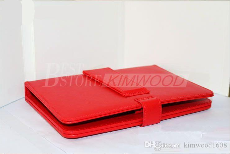 """Hot Sale !! Leather Case with Micro USB Interface Keyboard for Universial 7"""" 8"""" 9"""" 10"""" MID Tablet PC"""