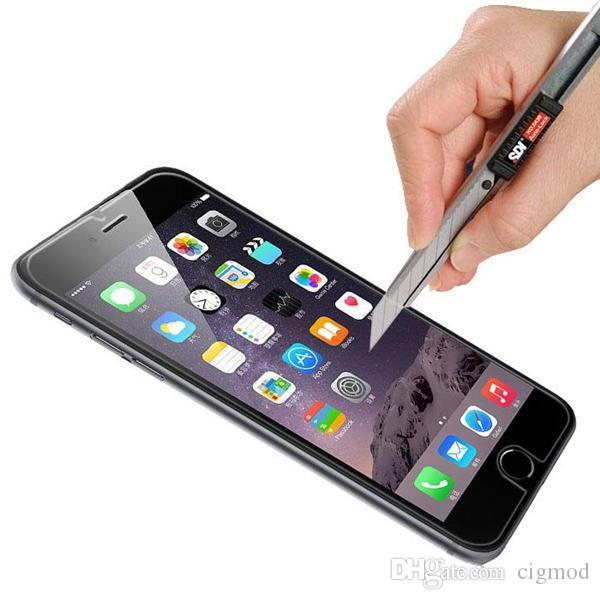 Professionelle 2.5D 0.2MI gehärtetes Glas Hersteller Fabrik Preis Displayschutzfolie Iphone 6 Plus 5 5S 4S Samsung Galaxy S6 S5 S4 S3 Hinweis 4 3