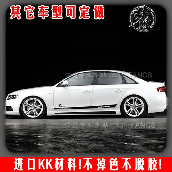 Audi Audi A4l Car Stickers Reflective Car Stickers Imported A4 A6