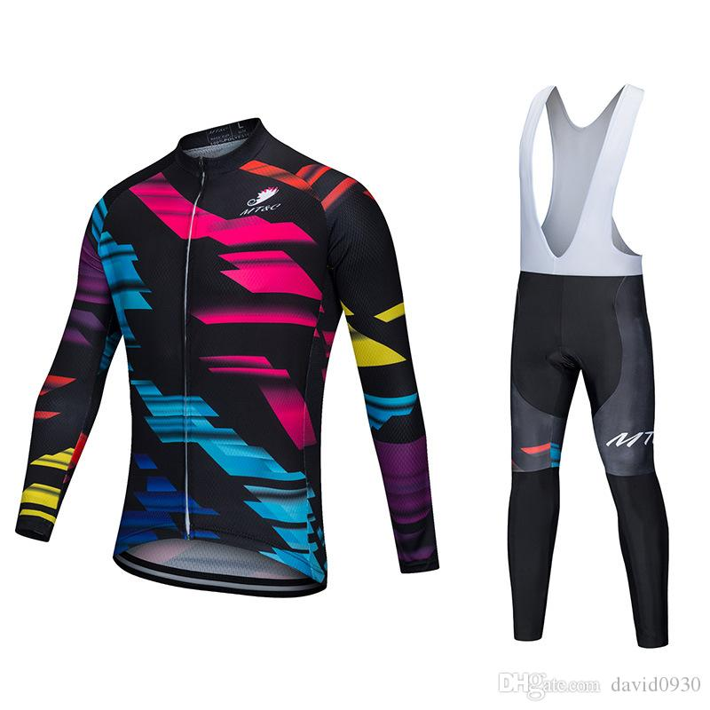 7af793850 MT C Cycling Jersey Set Red Blue Lightning Breathable Clothes Quick Dry 9D  Gel Pad Bicycle Spring Summer Sportswear Bike Clothes Bib Shorts Motorbike  ...