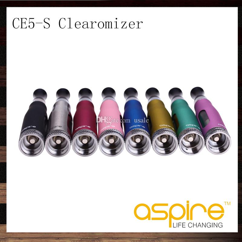 Aspire CE5S BVC Clearomizer CE5S BDC Atomizer 1.8ml CE5-S Clearomizer With BVC BDC Replacement Coil Head