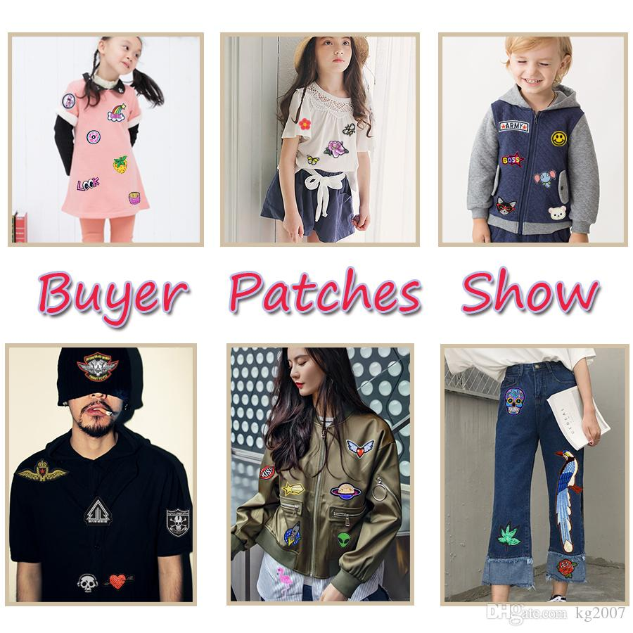 Number Combination Patches for Kids Clothing Bags Iron on Transfer Applique Patch for Jeans DIY Sew on Embroidery Badge
