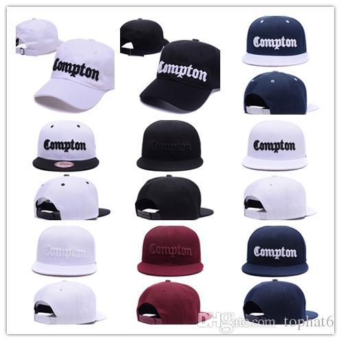 Compre Barato Hot SSUR Compton Snapback Chapéus Starter Compton Bonés De  Beisebol Ajustável Exclusivo Para Homens E Mulheres af8afa2461a