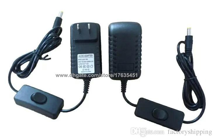 12V 2A Power Supply With Switch ON/OFF ON / OFF For Led Strip High Quality Fedex/DHL