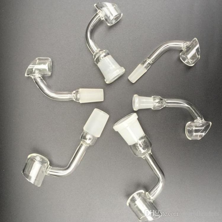4mm Dikke Quartz Banger Nail Domeless 90 graden of 45 graden Bend Domeloze Quartz Nail, Club Banger Nail Domeless van Hyman Quartz