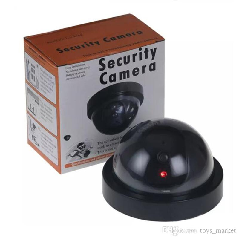 Surveillance Security Camera With LED Sensor Light Dummy Dome Fake Cameras For Indoor Outdoor Security Surveillance Protection Free DHL