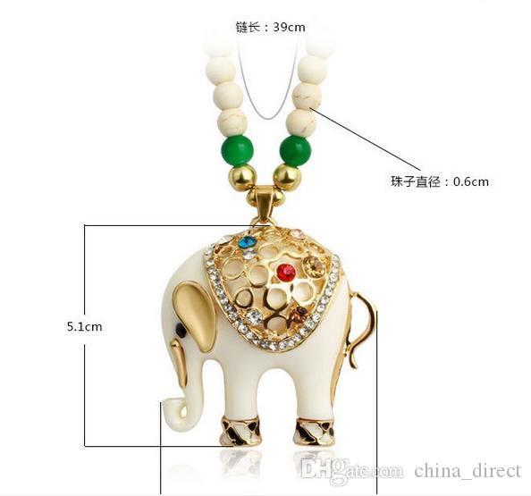 MODE LANGE Strickjacke KETTE HALSKETTE ANHÄNGER SCHMUCK Halskette gemischt / # 3864