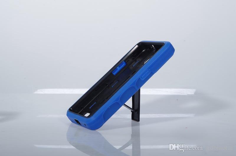 Высокое качество прочный супер комбо сверхмощный противоударный сотовый телефон чехол с подставкой ТПУ + PC для ZTE Z819C 2 в 1 случае