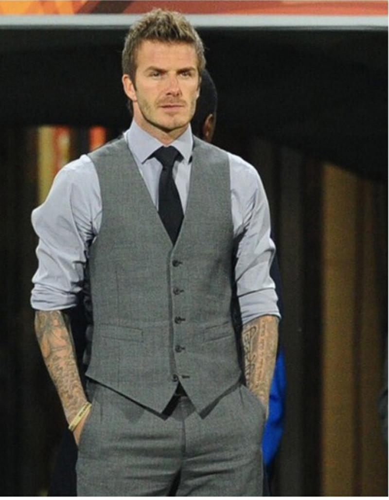 Men's Vests Online Sale Men'S Vest Beckham Vest Men'S Casual Suit ...