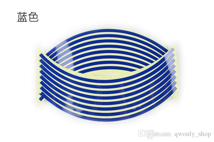 Toptan 7 Renkler, 16 Stripes 14
