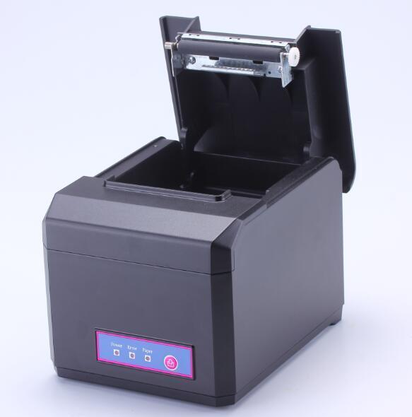 TP-8017-UB USB + 블루투스 80MM 열전 사 프린터 이중 몰드는 자동 커터 300MM / 초 속도로 Android, iOS, Windows를 지원합니다.