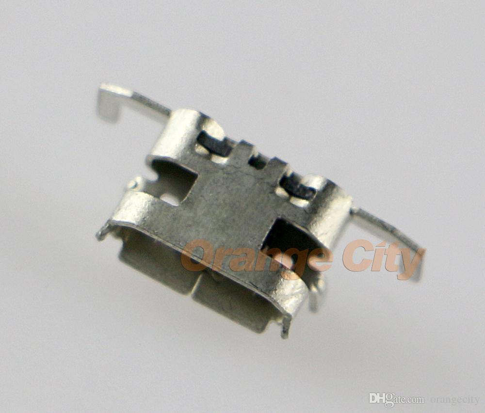 Substituição micro usb poder carregador de carregamento conector soquete dock port para xboxone xboxone um controlador de peças de reparo