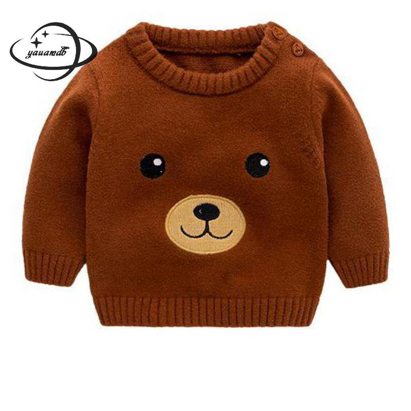 Wholesale Yauamdb Baby Sweater 2017 Autumn Winter 9 24m Girls Boys