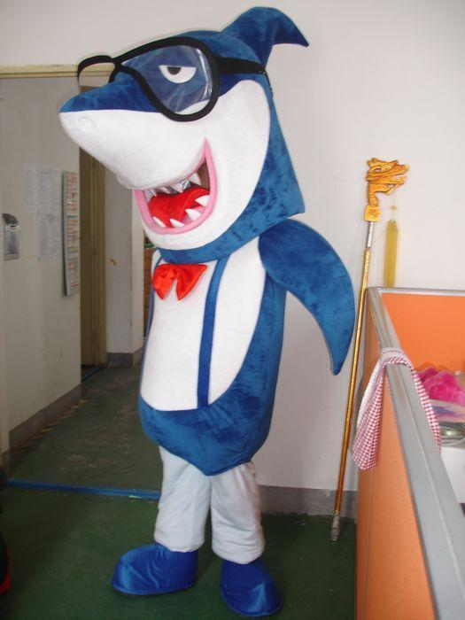 Adult Size Blue Shark Mascot Costume Sea Animal Blue Shark Costume Christmas Birthday Party Fancy Dress Costumes For Less Gothic Halloween Costumes From ... & Adult Size Blue Shark Mascot Costume Sea Animal Blue Shark Costume ...