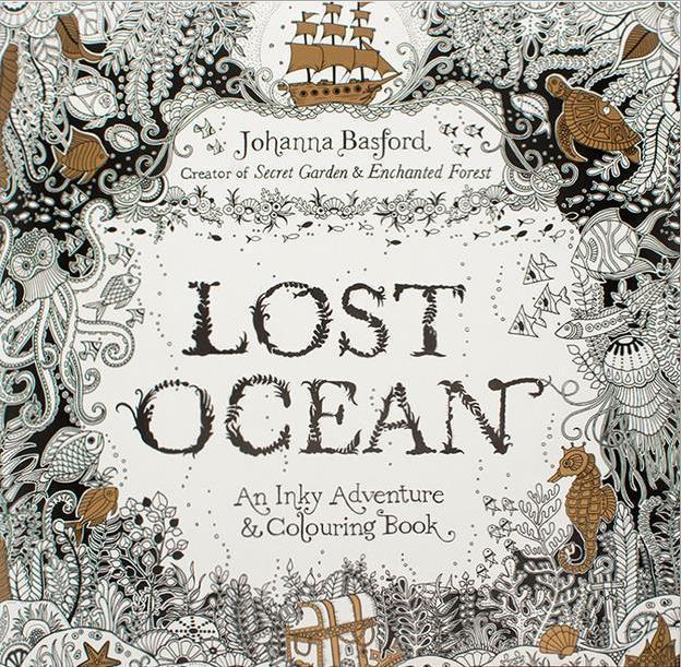 Secret Garden Series Lost Ocean English Coloring Book