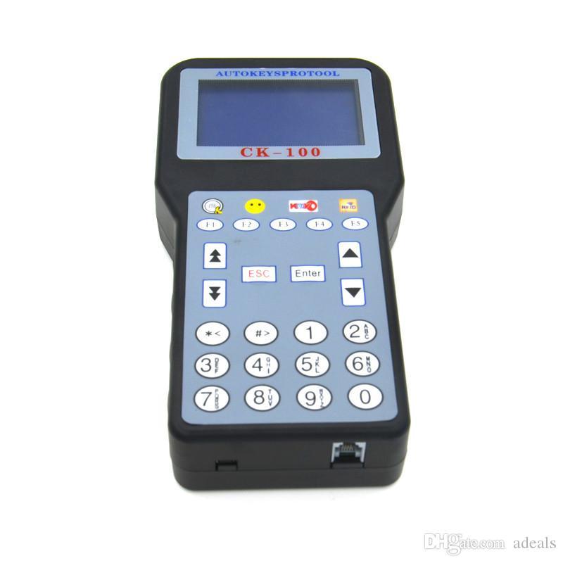 CK100 CK-100 V99.99 Programmateur automatique de clés mis à jour la version de l'outil de programmation automatique SBB V99.99 avec copieur multilingue