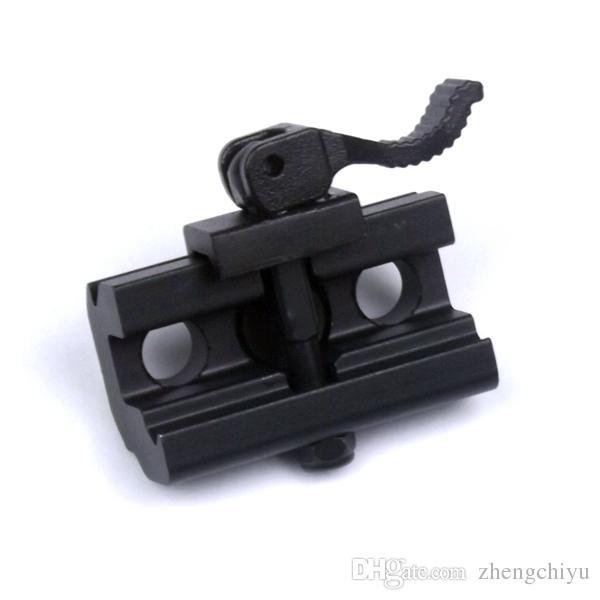 빠른 분리 캠 잠금 QD Bipod 슬링 스터드 어댑터 Harris Style Bipod 용 위버 또는 Picatinny 레일 장착 용