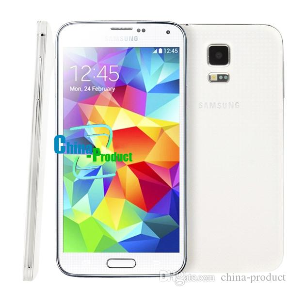 "100% Original Samsung Galaxy S5 i9600 G900F Quad Core Phones 2 GB RAM 16 GB ROM 5.1 "" refurbished smartphone"