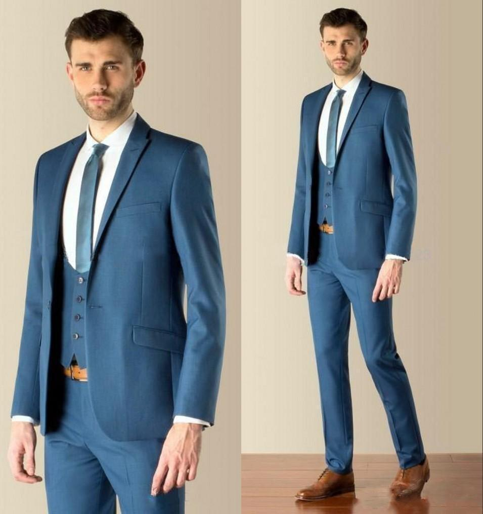 Silver Blue Suit - Go Suits