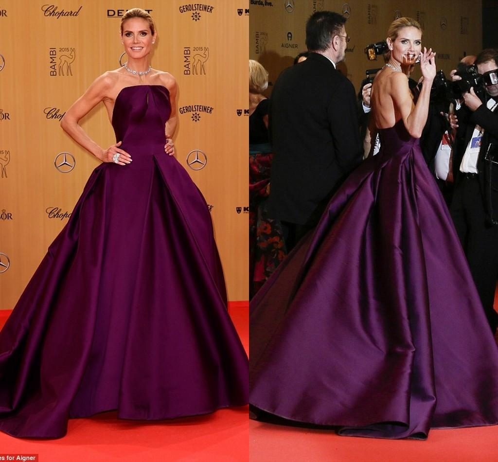 Unique Red Carpet Evening Gown Pictures - Wedding and flowers ...