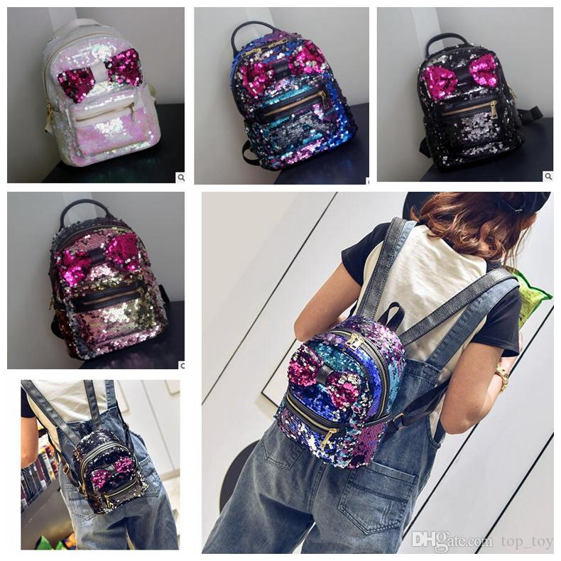Fashion Sequin Kid Backpack Cute Girl Backpacks Children S Bags Stylish  Children Christmas Gift Travel Bag Backpack KKA3394 Discount School  Backpacks … a551c3c5fff25