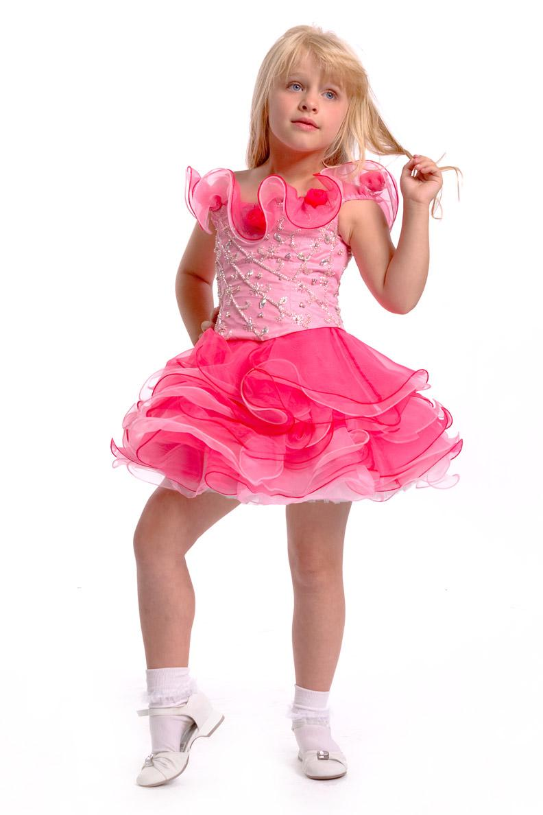 2015 Pink Ruffles Ball Gown Short Mini Cupcake Girls Pageant Dresses Infant Toddler Birthday Party Dresses Above Knee Birthday Party Dresses