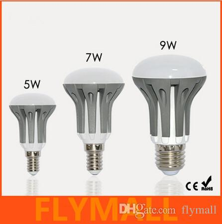 New Arrival E14 E27 LED Dimmable 5W 7W 9W R39 R50 R63 Bulbs Energy Saving bright SMD 2835 led Spot Globe Bulb AC110-240V lamps lighting