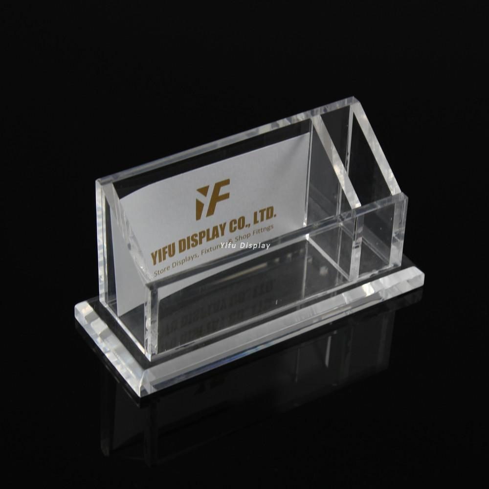 Acrylic Business Card Display Clear Acrylic Business Name Card ...