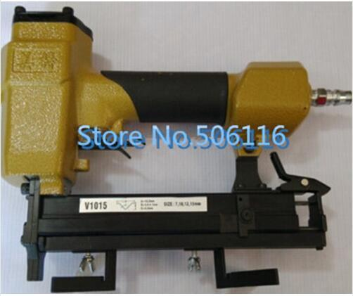 2019 New Pneumatic Picture Frame Joiner V Nailer Joining Gun Nail