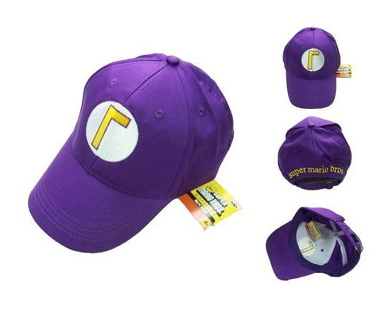 5 цветов Супер Марио шляпа Cap регулируемый Марио Луиджи Варио Waluigi Бейсбол шляпа детские D шапки