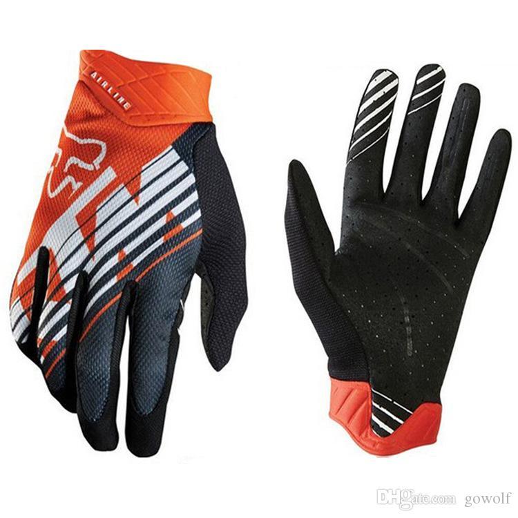 Fashion Design FOX MTB Racing Gloves Winter Motocross Dirtpaw Rockstar Full Finger Protective Gear for Ski Bike