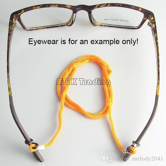 Glazen Winkel Optische Frame Touw Brillen Ketting Zonnebril Koord Eyewear 12 stks / dozijn 10 Dozens / Gratis verzending