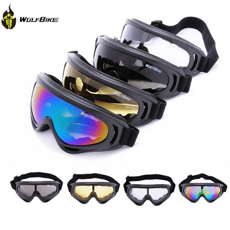 Marca WOLFBIKE UV400 Proteção UV Outdoor Sports Snowboard Skate Óculos de  Esqui Motorcycle Safety Eyewear Sunglasses Lens Coating BYJ-011 0ca9f054a2