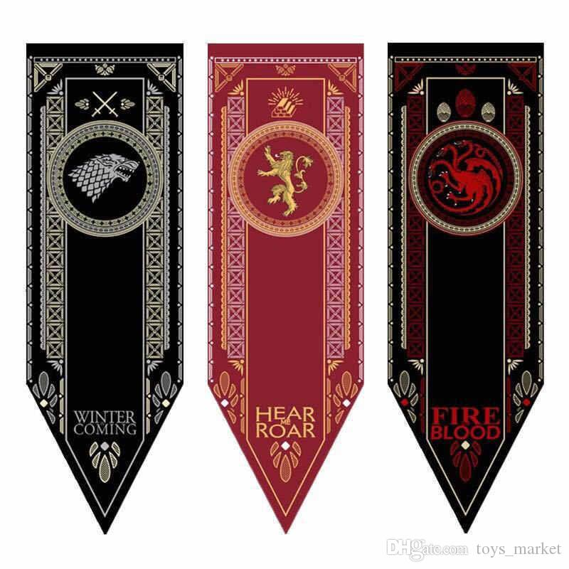 Compre Game Of Thrones Casa Stark Banner Torneio De Lobo Bandeira Ao Ar Livre  Bandeira 46   150 Personalizado América EUA Equipe De Futebol Da Faculdade  De ... 1e6ee13826b