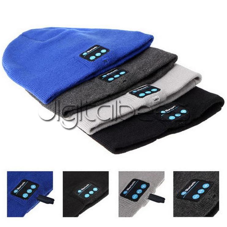 블루투스 모자 음악 Beanie 모자 블루투스 V4.1 스테레오 무선 이어폰 스피커 마이크 핸즈프리 아이폰 7 삼성 갤럭시 S7 음악 모자