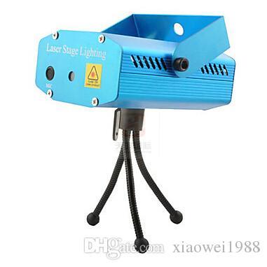 Mini-LED-Laser-Projektor Weihnachtsdekorationen Laser-Disco-Licht-Laser-Licht DJ-Voice-activated DJ-Disco-Xmas Party Verein-Licht