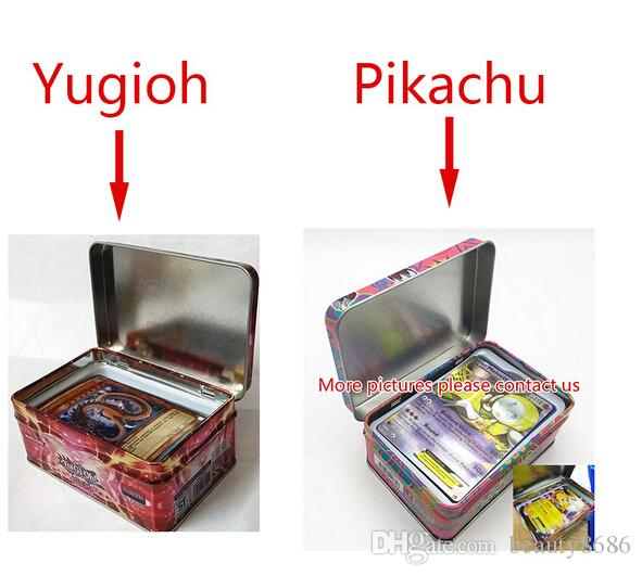 wholesale /Set With Box Yugioh Game Paper Cards Toys Girl Boy Yu Gi Oh Game Collection Cards Christmas Gift Brinquedo Toy