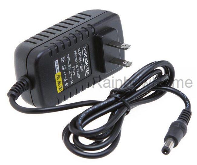Преобразователь переменного тока в постоянный источник питания Преобразователь 12В 2А 24W Зарядное устройство для светодиодных фонарей Полосный маршрутизатор IP-камера ТВ-бокс