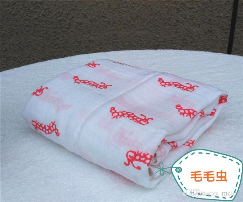 120 * 120cm Musselin Decke Aden Anais Baby wickeln Wrap Decke Decke Frottee Baby Frühling Sommer Baby Säuglingsdecke kostenlos Fedex Versand