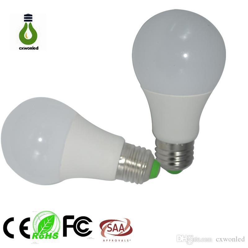 Aluminum E27 Warm Saving Light Security LED Bulb Lamp 5W AC85-265V 2015 new arrival led bulb