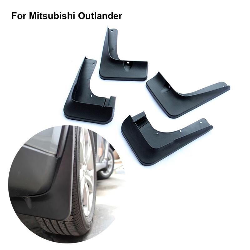 New For Mitsubishi Outlander Mud Flaps Splash Guard Mudguards Mud Flap Car Fender Auto ...