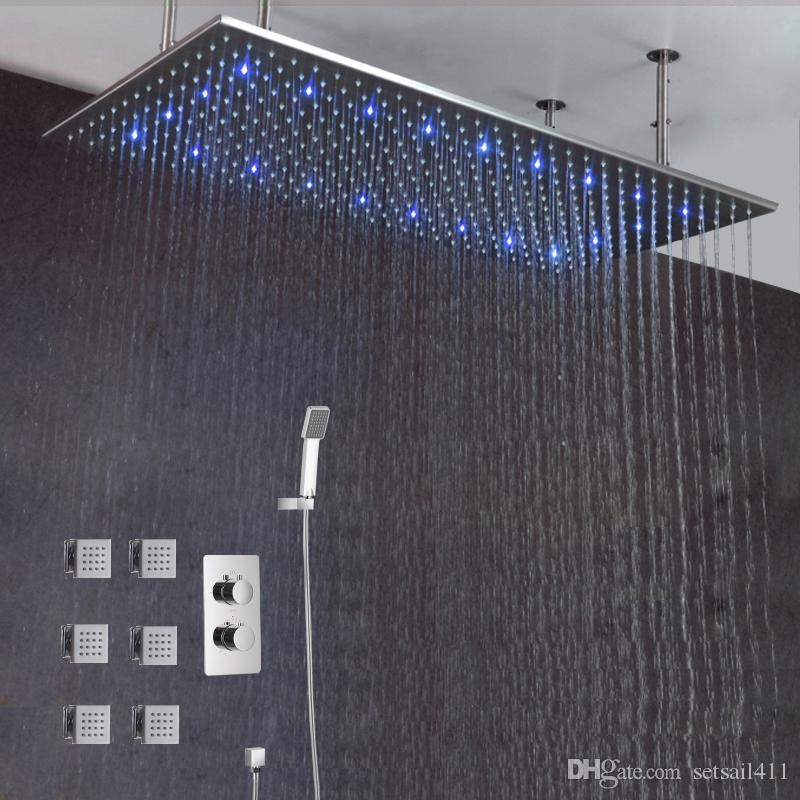 diyhomediscounts shower onsuite beautiful best rainfall unicorn ultimate high quality system set value products experience