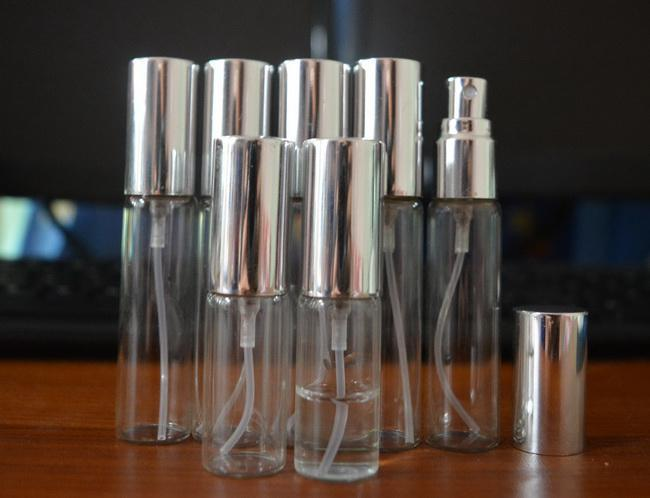 5ML 10ml Parfum Empty Bottle Travel Perfume Atomizer Refillable Pump Spray portable Bottle Fragrance