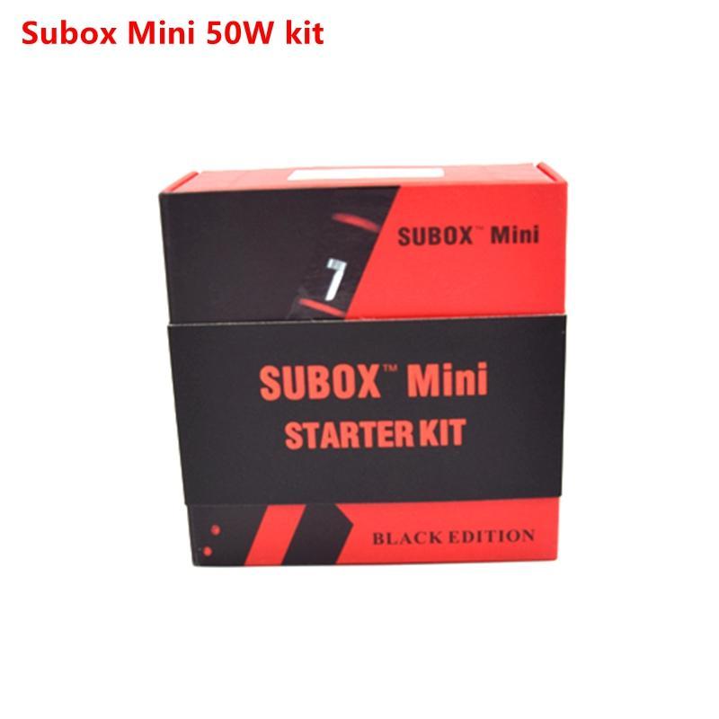 100% original kanger subox Mini Starter Kit Kangertech OCC coils Subtank Mini Kbox 50w box mod vs subtank plus nano DHL